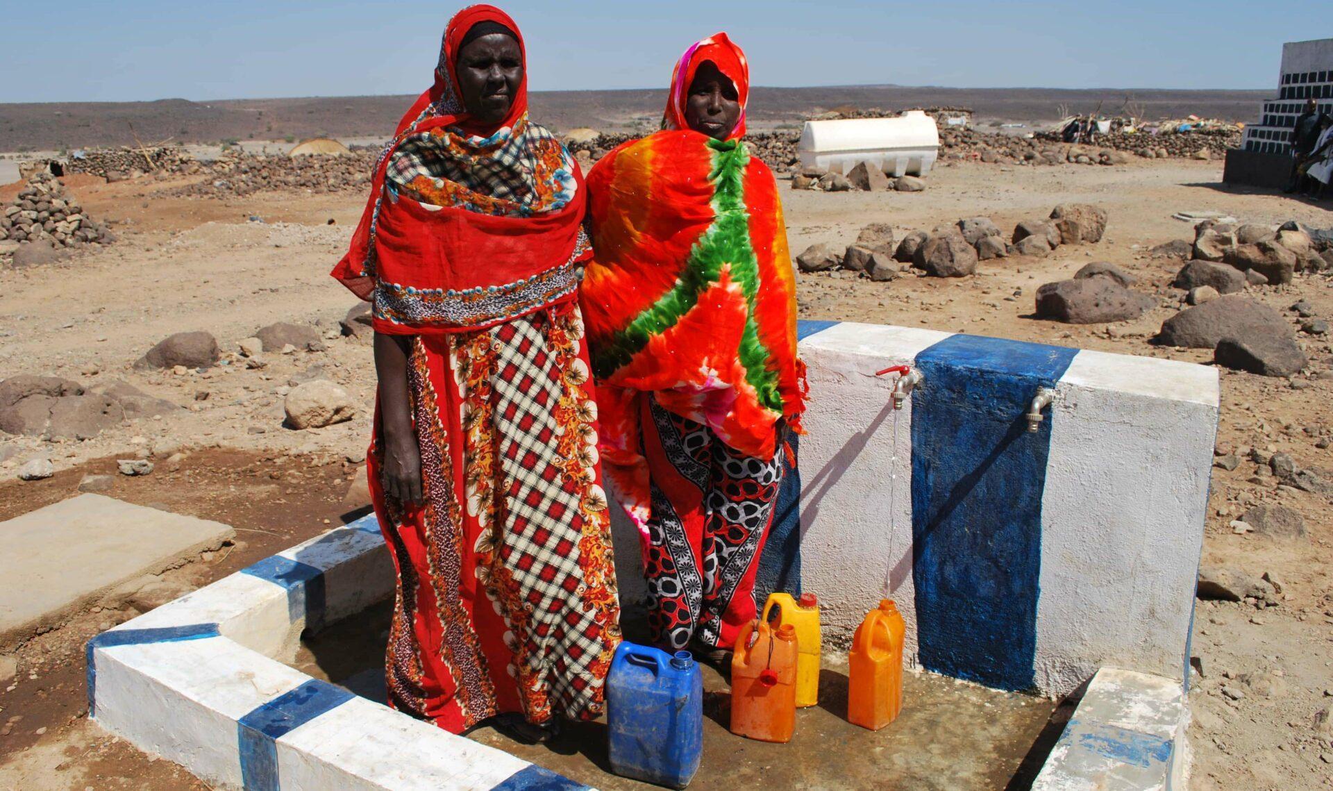 Réseau distribution d'eau Djibouti SOS SAHEL