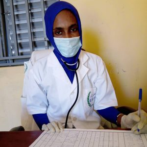 Dienaba, infirmière Mauritanie